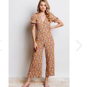 Faithfull The Brand anka floral jumpsuit